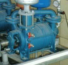 Flüssigkeitsring- vakuumpume